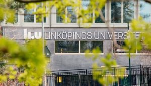 Fasaden på Linköpings Universitet